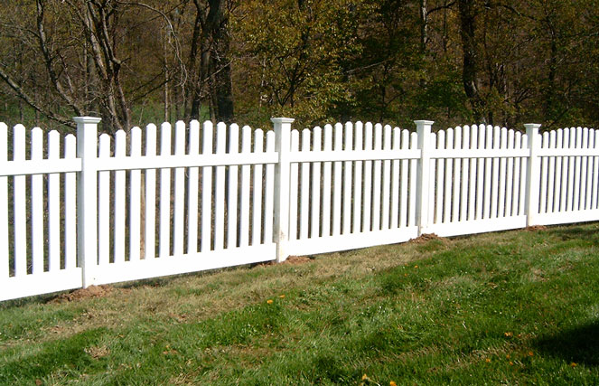 Browse Our Fence Styles Vinyl Fence Mt Hope Fence
