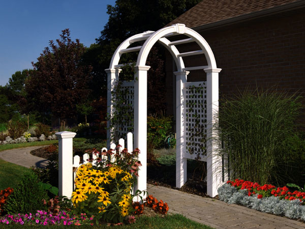 Vinyl Arbors and Trellis