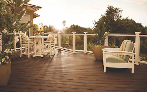 Trex Decking Contractor | Mt Hope Fence on