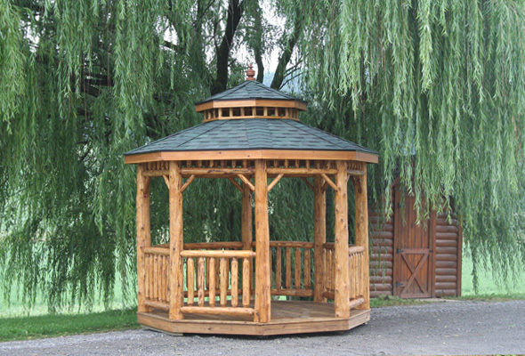 Gazebo Contractor in Ohio | Mt Hope Fence in Amish Country
