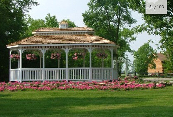 Pine Gazebo Contractor | Mt Hope Fence in Amish Country