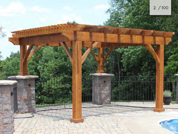 Amish Cedar Pergolas | Mt Hope Fence