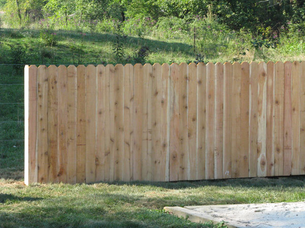 Merveilleux Wooden Privacy Fence