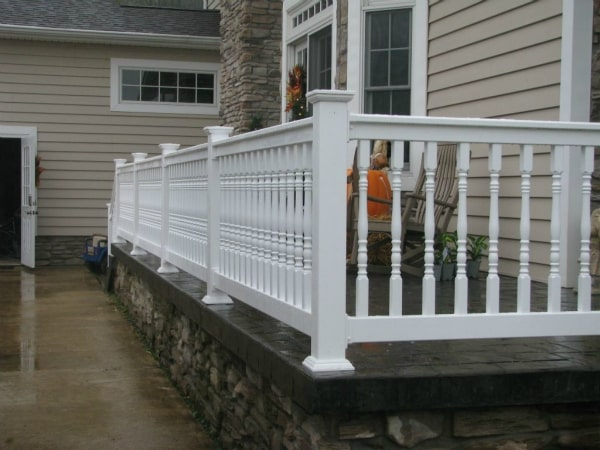 Colonial Hand Railing Mt Hope Fence